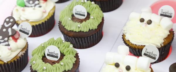 Twelve Cupcakes