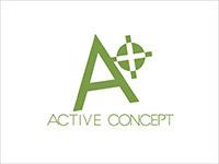 Logo active concept small